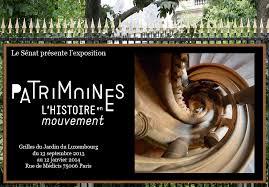 Patrimoines l histoire en mouvement l exposition du s nat sur les grilles du jardin du - Jardin du luxembourg exposition ...