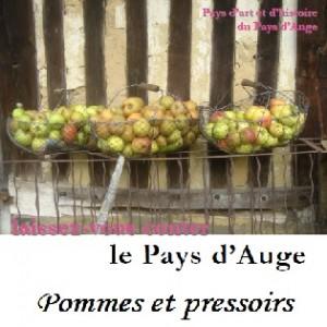 Pommes et pressoirs affiche