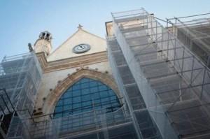 rénovation de l'église Saint-Merri (4ème)