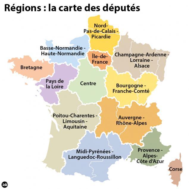 Reforme Territoriale Une Carte A Treize Regions Votee Par L Assemblee Patrimoine Environnement