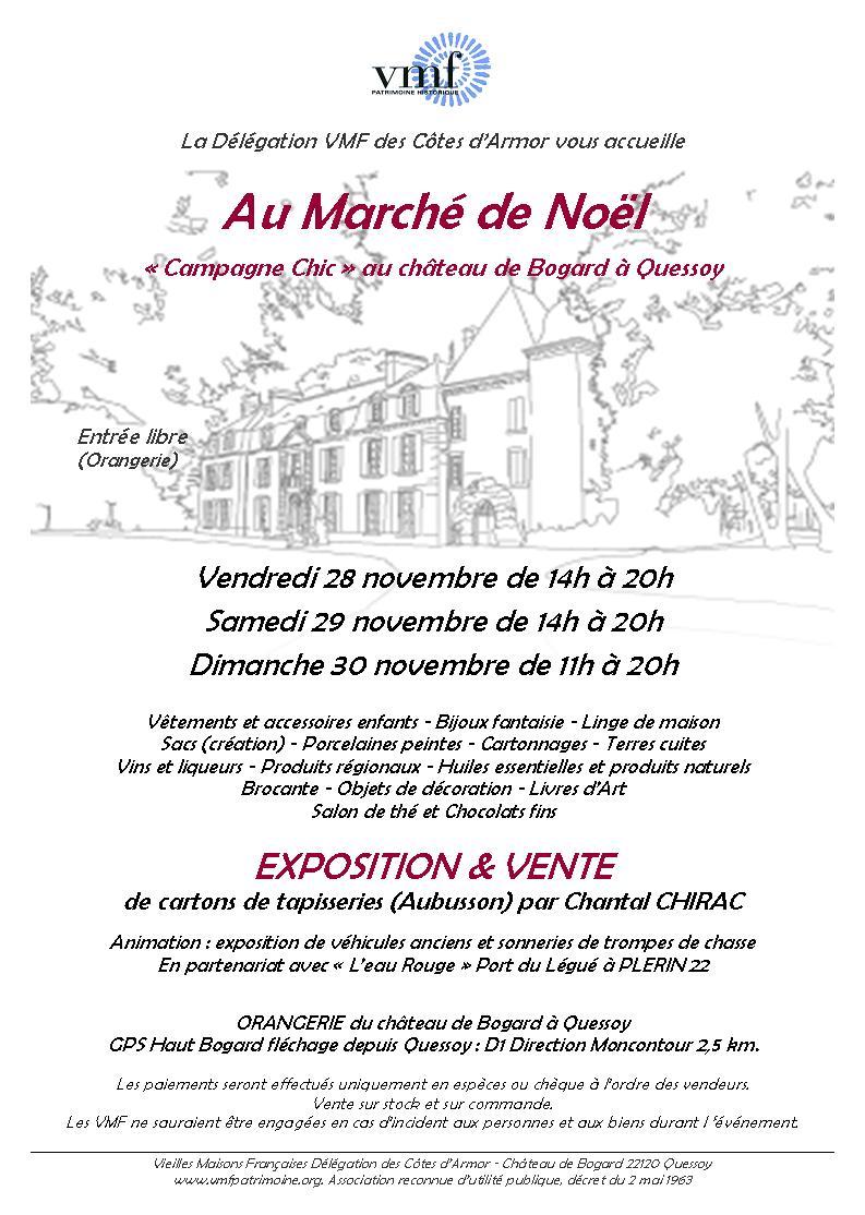 invitation Marché de Noël 2014 mail