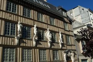 Rouen, rue d'Amiens, hôtel d'Etancourt