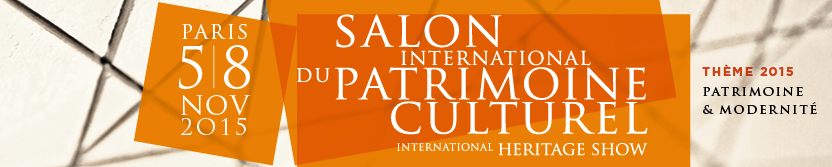 Salon international du patrimoine culturel 2015 for Salon du patrimoine